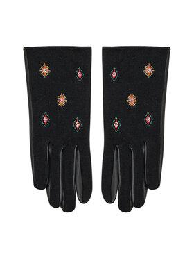 Desigual Desigual Rękawiczki Damskie 21WAAP01 Czarny
