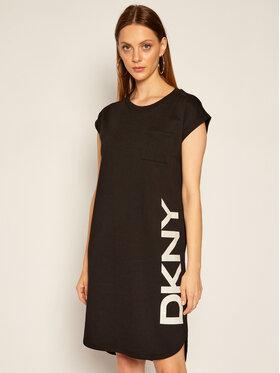 DKNY DKNY Hétköznapi ruha P0RD1B2J Fekete Regular Fit