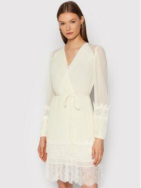 TWINSET TWINSET Коктейлна рокля 212TT2392 Бежов Regular Fit
