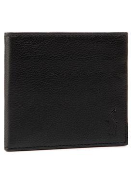 Polo Ralph Lauren Polo Ralph Lauren Голям мъжки портфейл Ongoing 405526310003 Черен