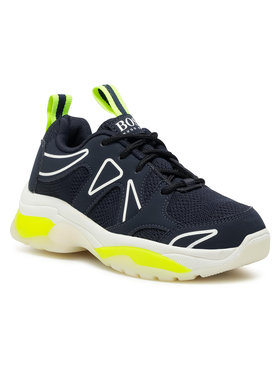 Boss Boss Sneakersy J29219 M Tmavomodrá