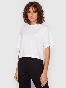 Calvin Klein Jeans Calvin Klein Jeans T-Shirt J20J215641 Bílá Boxy Fit