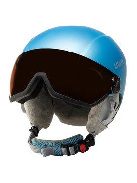 Uvex Uvex Kask narciarski Hlmt 400 Visor Style 5662159205 Niebieski