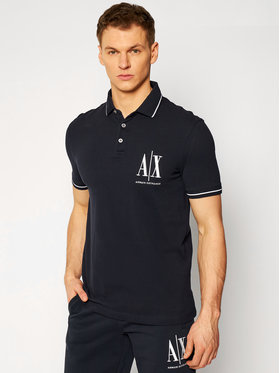 Armani Exchange Armani Exchange Polo 8NZFPA Z8M5Z 1510 Blu scuro Regular Fit