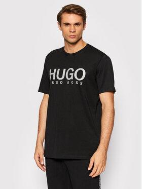 Hugo Hugo T-shirt Dolive213 50454191 Noir Regular Fit
