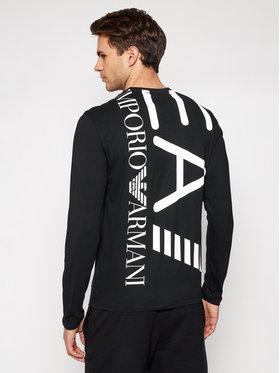 EA7 Emporio Armani EA7 Emporio Armani Тениска с дълъг ръкав 3KPT08 PJA2Z 1200 Черен Regular Fit