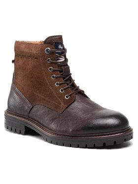 Pepe Jeans Pepe Jeans Turistická obuv Ned Boot Comb PMS50209 Hnědá