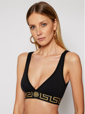 Versace Versace Сутиен бралет Donna AUD01047 Черен