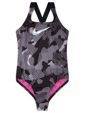 Nike Nike Strój kąpielowy Optic Camo Crossback NESS9616 Czarny