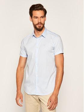 Emporio Armani Emporio Armani Koszula 8N1C10 1N06Z 0784 Niebieski Slim Fit