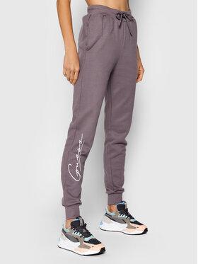 Guess Guess Sportinės kelnės O1BA11 KAOR1 Violetinė Regular Fit