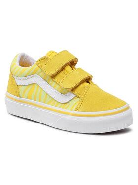Vans Vans Tenisówki Ols Skool V VN0A4BUV33Z1 Żółty