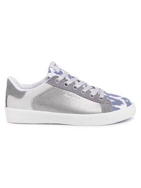 Pepe Jeans Sneakersy Kioto Kenia PLS30957 Sivá