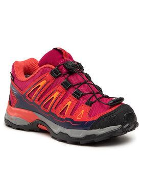 Salomon Salomon Трекінгові черевики X-Ultra Gtx J GORE-TEX 392917 09 W0 Рожевий