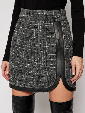 Rage Age Rage Age Mini sukňa Doloise 1 Sivá Slim Fit