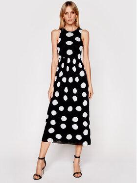 Marella Marella Ljetna haljina Odessa 36210512 Crna Regular Fit