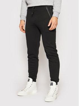 KARL LAGERFELD KARL LAGERFELD Teplákové kalhoty 705010 511900 Černá Regular Fit