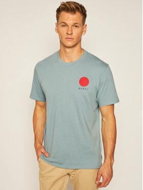 Edwin Edwin T-shirt Japanese Sun I025020 TF10J94 ARO67 Bleu Loose Fit
