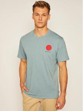 Edwin Edwin T-shirt Japanese Sun I025020 TF10J94 ARO67 Blu Loose Fit