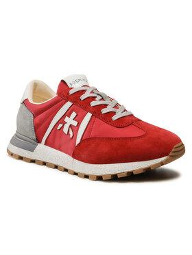 Premiata Premiata Sneakersy Johnlow 5183 Czerwony