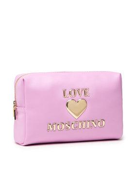 LOVE MOSCHINO LOVE MOSCHINO Kozmetická taštička JC5308PP1DLF0607 Ružová
