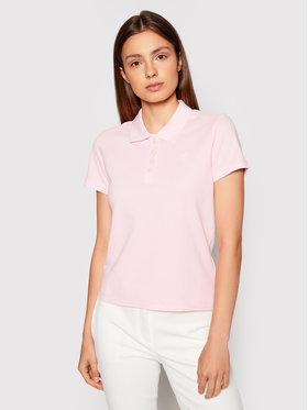 Guess Guess Polo marškinėliai Logo Pique W1YP38 RAQS0 Rožinė Slim Fit