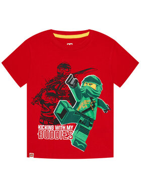 LEGO Wear LEGO Wear Тишърт 12010021 Червен Regular Fit