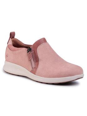 Clarks Clarks Pantofi Un Adorn Zip 261414414 Roz