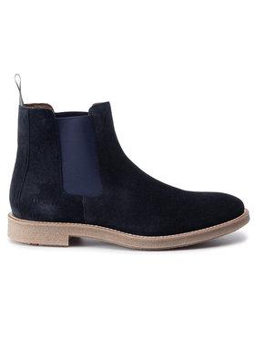 Lloyd Lloyd Kotníková obuv s elastickým prvkem Galvestone 29-579-25 Tmavomodrá