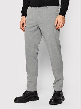 Boss Boss Spodnie materiałowe Banks1 50459139 Szary Slim Fit