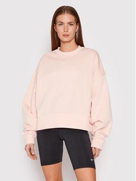 Nike Nike Bluza Sportswear Collection Essentials DJ7665 Różowy Oversize