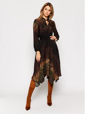 Desigual Desigual Рокля тип риза Milan 20WWVW22 Черен Regular Fit