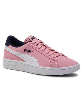 Puma Puma Sneakersy Smash v2 Buck Jr 365182 16 Różowy