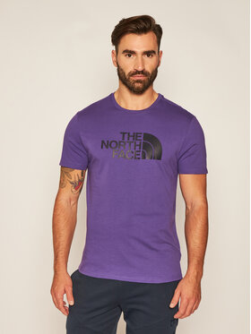 The North Face The North Face Marškinėliai Easy Tee NF0A2TX3NL41 Violetinė Regular Fit