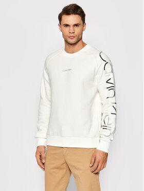 Calvin Klein Calvin Klein Majica dugih rukava Camouflage Logo Sweatshirt K10K107628 Bež Regular Fit