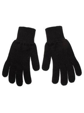 Calvin Klein Calvin Klein Vyriškos Pirštinės Monogram Gloves K50K506447 Juoda