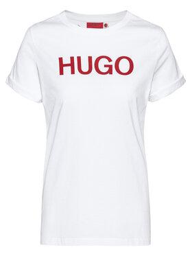 Hugo Hugo Póló Tee 3 50435017 Fehér Slim Fit