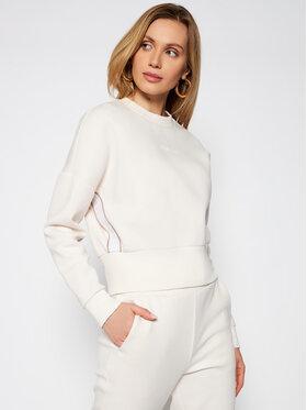 Guess Guess Džemperis Logo Tape O0BA25 KA3P1 Smėlio Comfort Fit