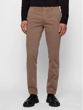 Boss Boss Pantaloni chino Schino 50379152 Marrone Slim Fit