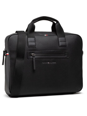 Tommy Hilfiger Tommy Hilfiger Laptoptáska Essential Pu Computer Bag AM0AM07240 Fekete