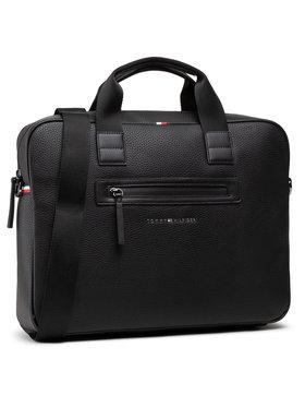 Tommy Hilfiger Tommy Hilfiger Nešiojamo kompiuterio krepšys Essential Pu Computer Bag AM0AM07240 Juoda