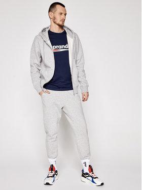 Sprandi Sprandi Marškinėliai SS21-TSM004 Tamsiai mėlyna Regular Fit