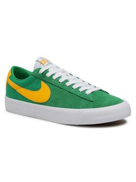 Nike Nike Topánky Sb Zoom Blazer Low Pro Gt DC7695 300 Zelená
