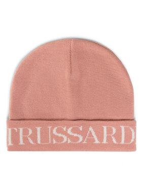 Trussardi Jeans Trussardi Jeans Sapka Beanie Logo 59Z00248 Rózsaszín