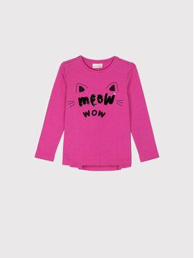 Coccodrillo Coccodrillo Μπλουζάκι ZC1143104MEO Ροζ Regular Fit