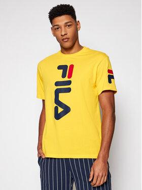 Fila Fila T-shirt Allan 688463 Giallo Regular Fit