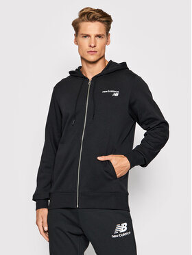 New Balance New Balance Sweatshirt MJ03907 Schwarz Athletic Fit