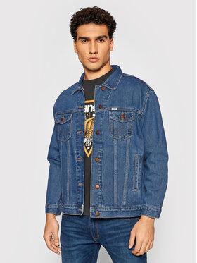 Wrangler Wrangler Kurtka jeansowa Heritage W4364933V Granatowy Regular Fit