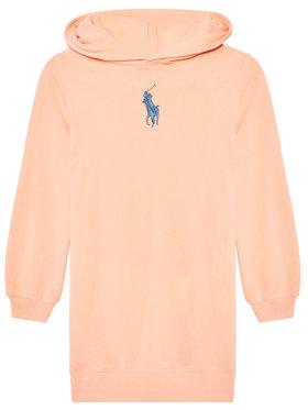 Polo Ralph Lauren Polo Ralph Lauren Hétköznapi ruha Hood Flc Drs 313837221003 Rózsaszín Regular Fit