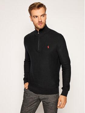 Polo Ralph Lauren Polo Ralph Lauren Пуловер Ls Texture Hz Pp 710701611004 Черен Regular Fit